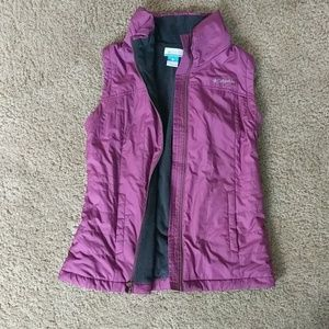 Columbia Fleece Lined Insioated Vest